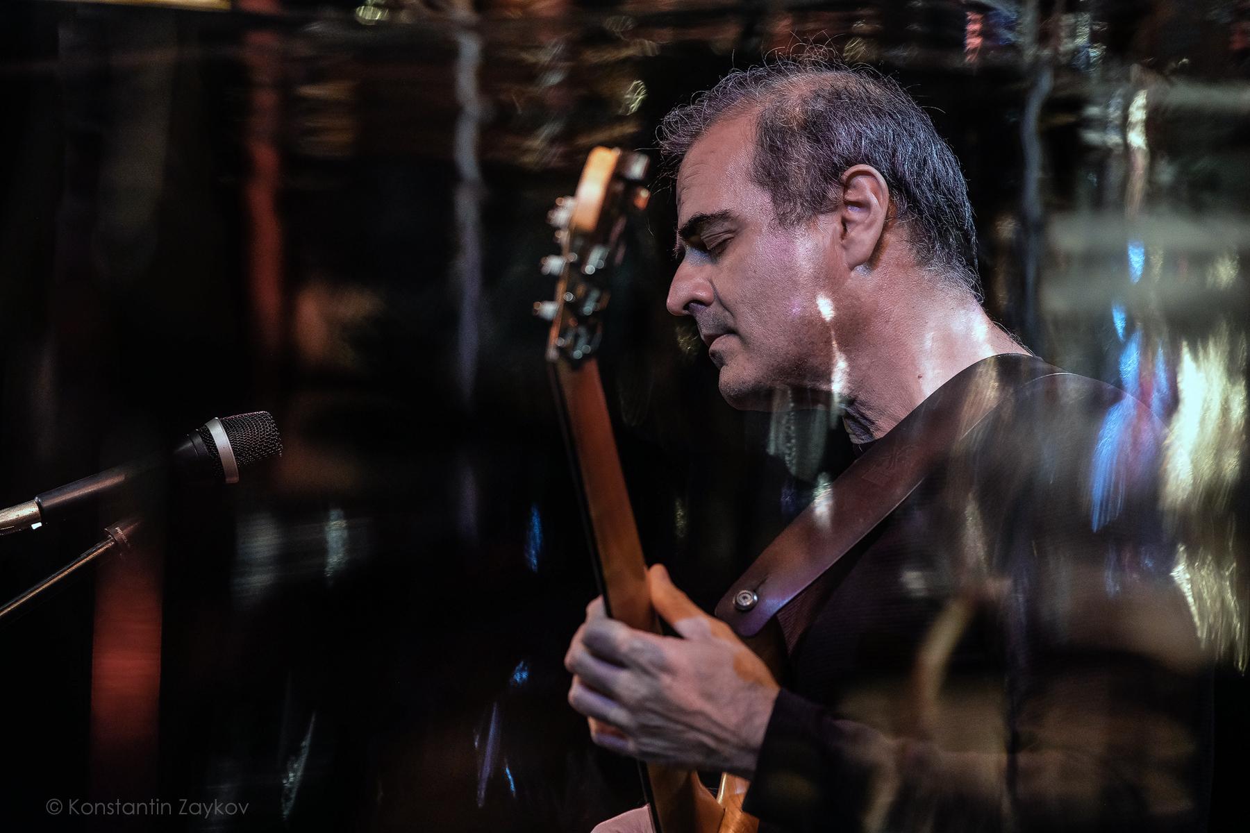 Bass guitarist from Greece Yiotis Kiourtsoglou